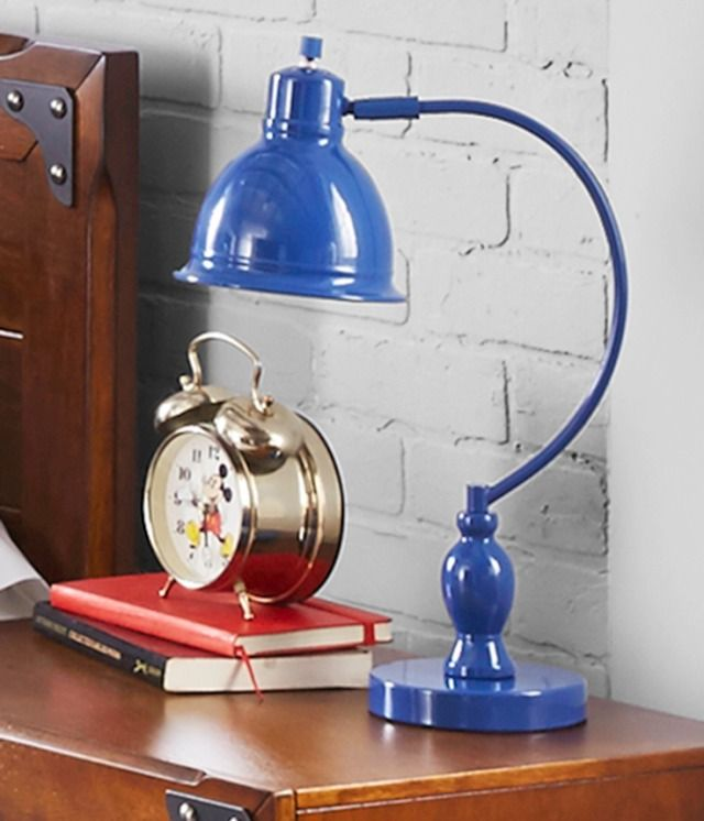 Better Homes And Gardens Metal Desk Lamp, Blue