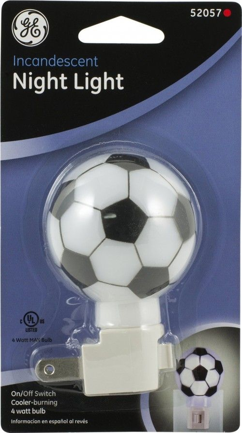 Soccer Ball Incandescent Night Light By GE