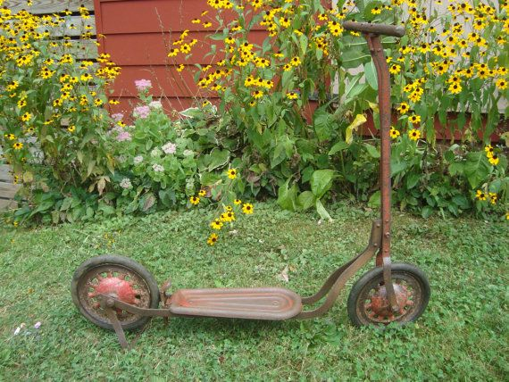 Hey, I found this really awesome Etsy listing at https://www.etsy.com/listing/202507535/vintage-childrens-scooter