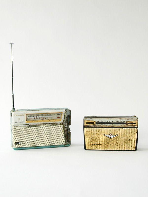 Radio transportable vintage