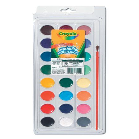 Arts Crafts Sewing Paint Brushes Kids Watercolor Popular