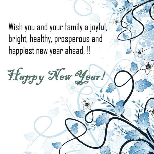 Happy New Year 2019 Greetings Messages And Quotes For Family And