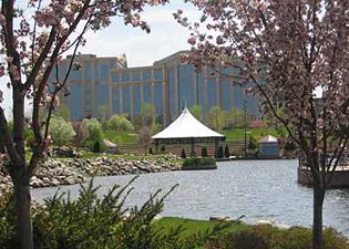 **The City of Edina: Centennial Lakes Park // good place to walk, farmers market in summer
