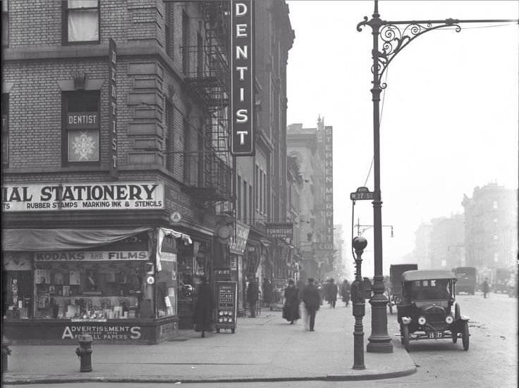 Manhattan: 17th Street and 8th Avenue (c 1919) -William D Hassler, photographer
