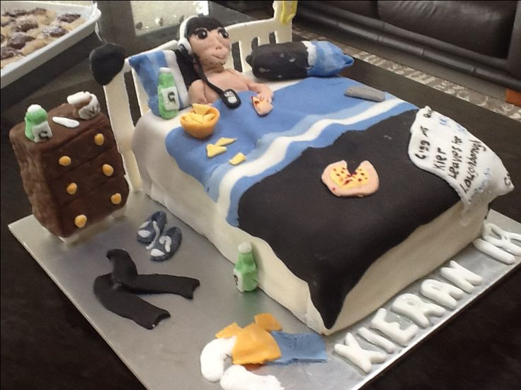 Staying in bed cake