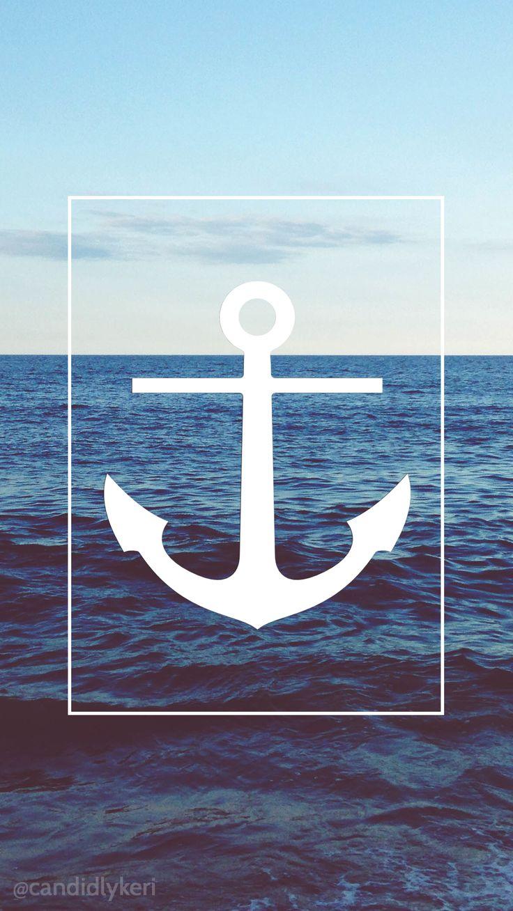 25+ best Nautical wallpaper ideas on Pinterest | Wallpaper, Coastal powder room and Half ...