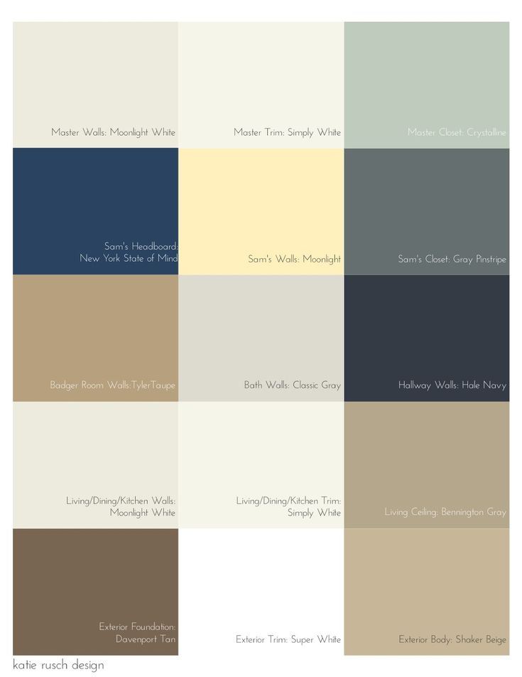 Picking a Palette for Your Whole House | katie rusch design