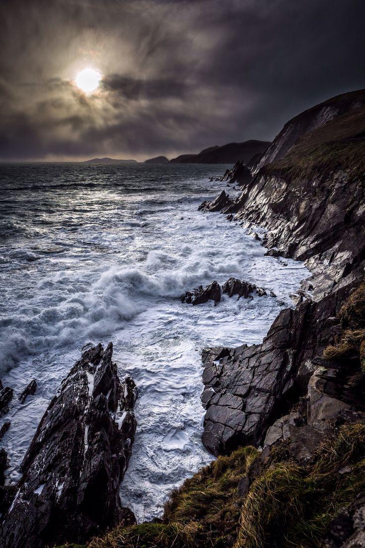 Slea head drive. Dingle peninsula. County Kerry, Ireland ...