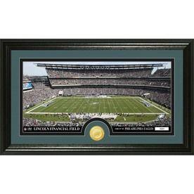 The Highland Mint 20-In W X 12-In H Philadelphia Eagles Stadium Bronze