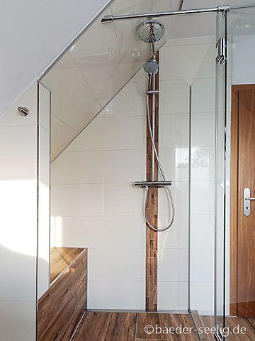 Dachgeschoss Badezimmer planen und gestalten - BÄDER SEELIG