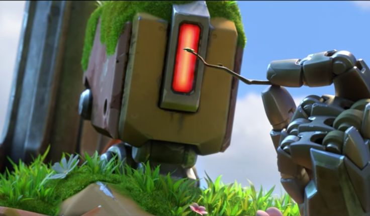 Touchingly, Blizzard dedicated today's new Bastion-centric Overwatch short to…