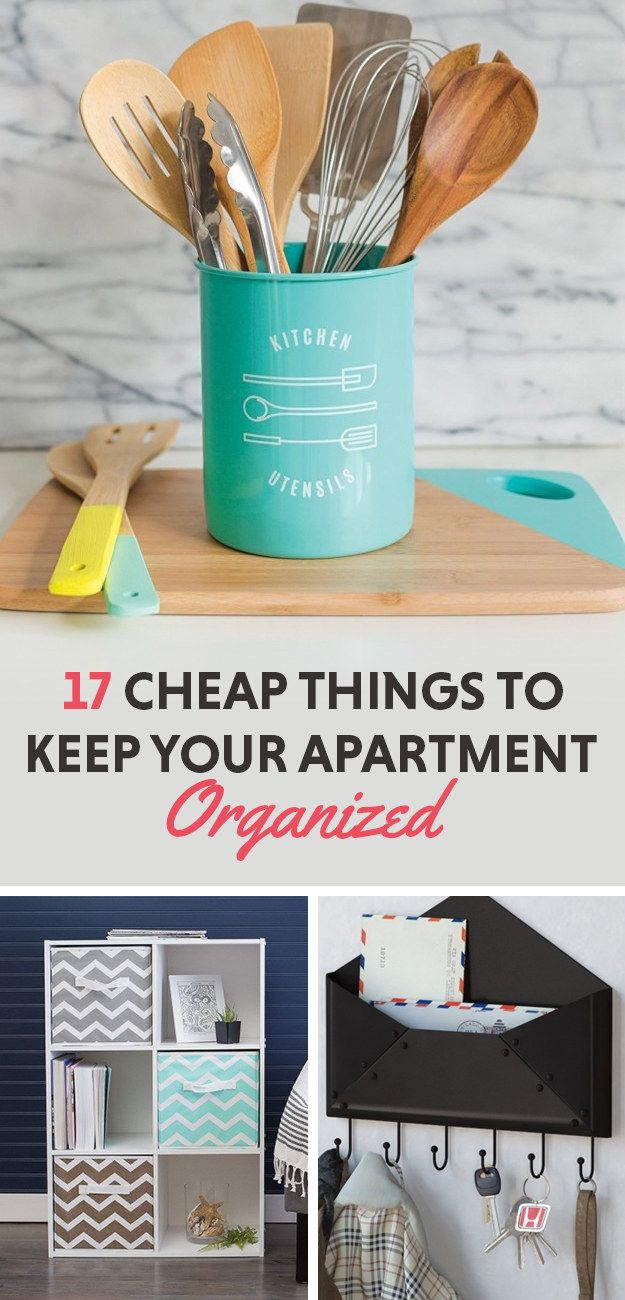 17 Super Cheap Things To Help Keep Your Apartment Organized