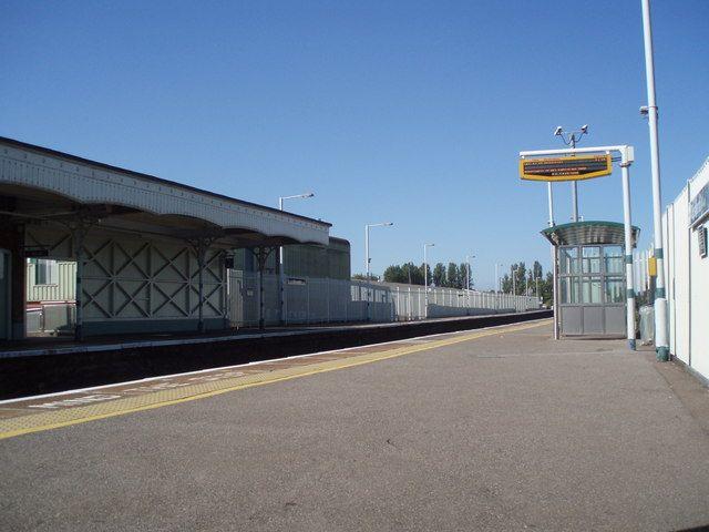 Emsworth Railway Station (EMS) in Emsworth, Hampshire