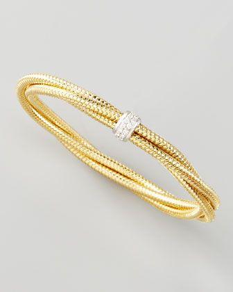 Roberto Coin Primavera Diamond Bangle - Neiman Marcus