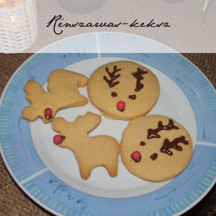 Rénszarvas-keksz Reindeer cookie #glutenfree ecofaires.blogspot.hu