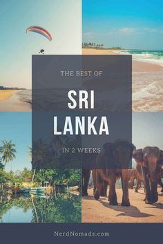 Sri Lanka Itinerary - The Best Of Sri Lanka In Two Weeks - Nerd Nomads