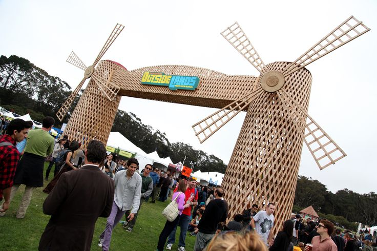 """""""Meet us by the windmills!"""" #speckevents #outsidelands"""