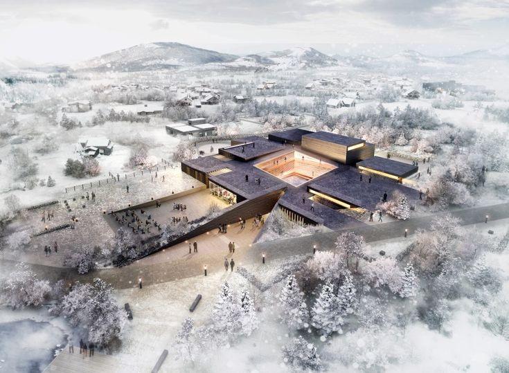 ArchiPlan Wins Competition to Design Kim Tschang-Yeul Art Museum (有点土土的少女气又有点骚)
