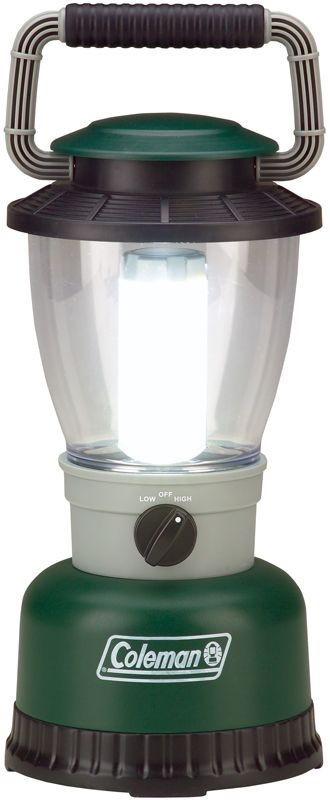 Many of these battery-powered lanterns use energy-saving fluorescent or LED lights instead of the old, inefficient incandescent bulbs of the past.