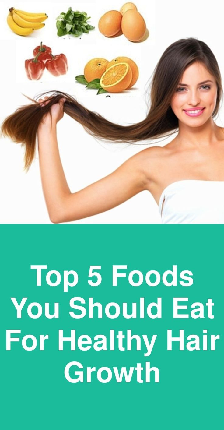 Top 5 foods you should eat for healthy hair growth – Haarwuchs