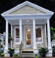 133 best shotgun house plans images on pinterest small for Modular shotgun house