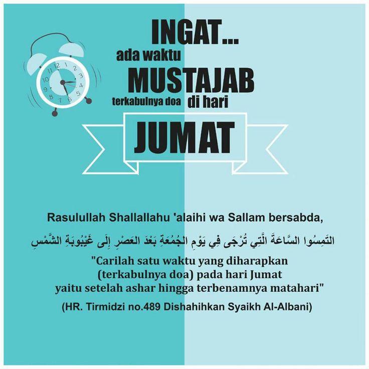 Follow @NasihatSahabatCom http://nasihatsahabat.com #nasihatsahabat #mutiarasunnah #motivasiIslami #petuahulama #hadist #hadits #nasihatulama #fatwaulama #akhlak #akhlaq #sunnah #aqidah #akidah #salafiyah #Muslimah #adabIslami #DakwahSalaf # #ManhajSalaf #Alhaq #Kajiansalaf #dakwahsunnah #Islam #ahlussunnah #sunnah #tauhid #dakwahtauhid #Alquran #kajiansunnah #salafy #doazikir #dzikir #adabharijumat #waktumustajab #adabberdoa #ijabah #kabulkan #Jumatsore #sesudahAshar