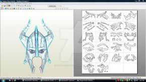 Skyrim Dragon Bone Helmet Download by ZombieGrimm
