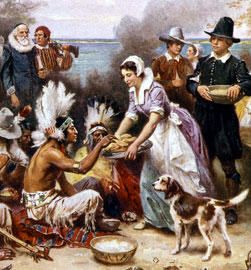 pilgrims and indians relationship