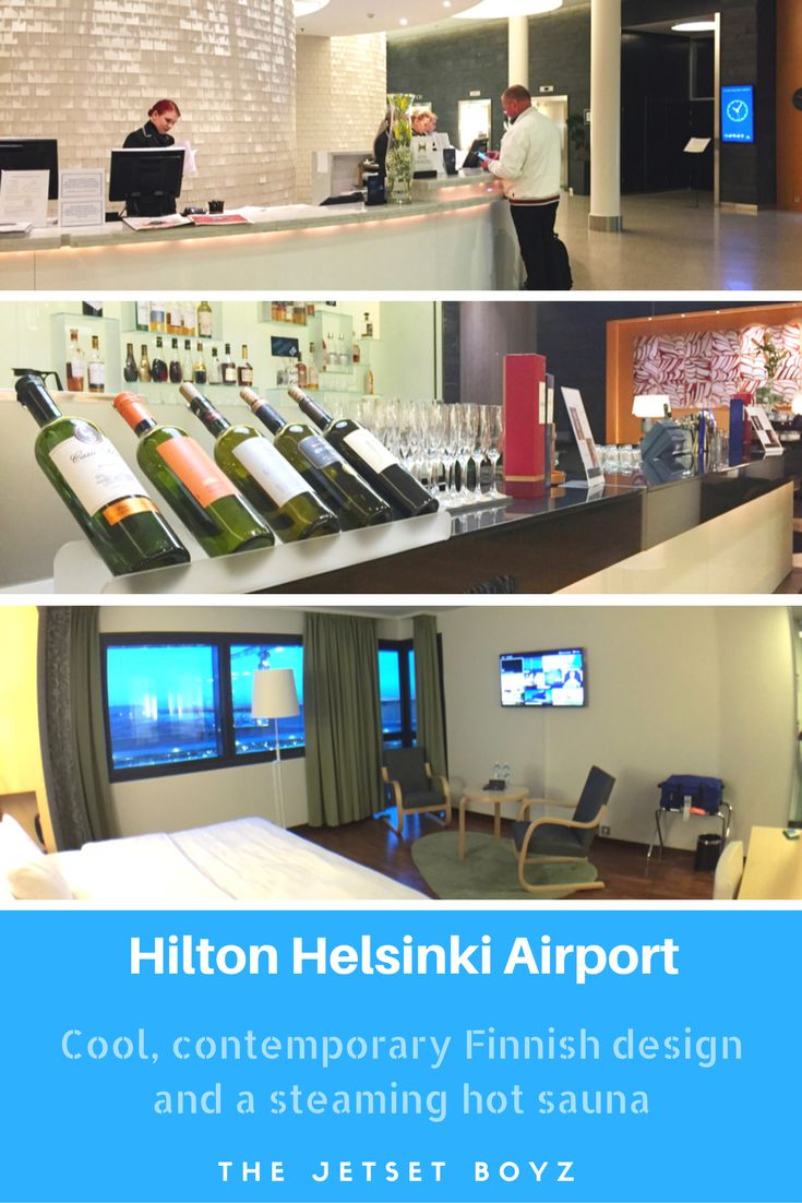 Located just a few minutes' walk from the terminal, the Hilton Helsinki Airport is an ideal place to stay for an overnight stopover between flights. It caters perfectly for flyers, with breakfast from 3am, a flight check-in machine in the lobby & saunas to relax in between flights.