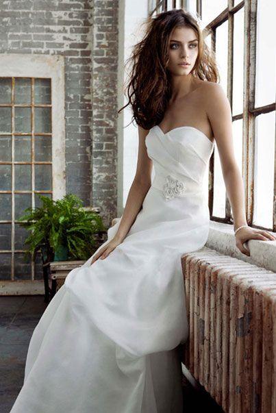 Американские свадебные платья из мягкой вуали