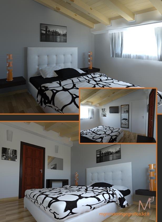 Render bedroom Arca