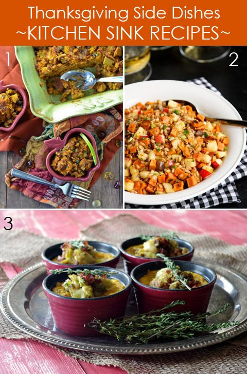 Thanksgiving Side Dishes - Kitchen Sink Recipes