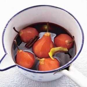 Recept - Stoofperen - Allerhande Variatie : 50 gr suiker, een volle theelepel citroenrasp