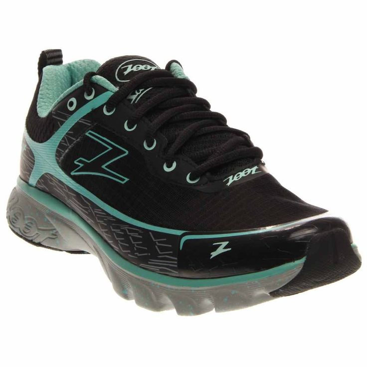 Zoot Women's W Solana ACR Running Shoe, Black/Lagoon, 9 M US.