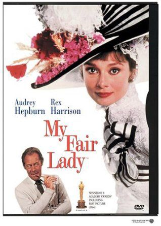 """My Fair Lady""(1964).Directed by George Cukor.Starring:Audrey Hepburn,Rex Harrison.It's a musical about women who called Eliza.She learns to read and write. Recommended age-0+"