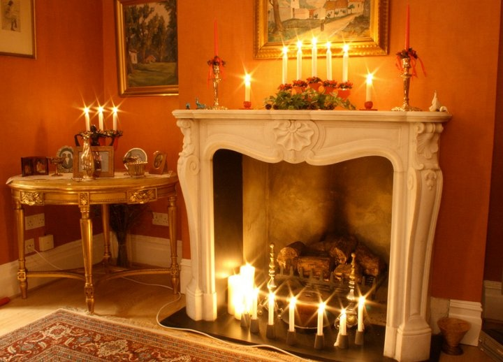 Christmas fireplace mantle decorations it s beginning to