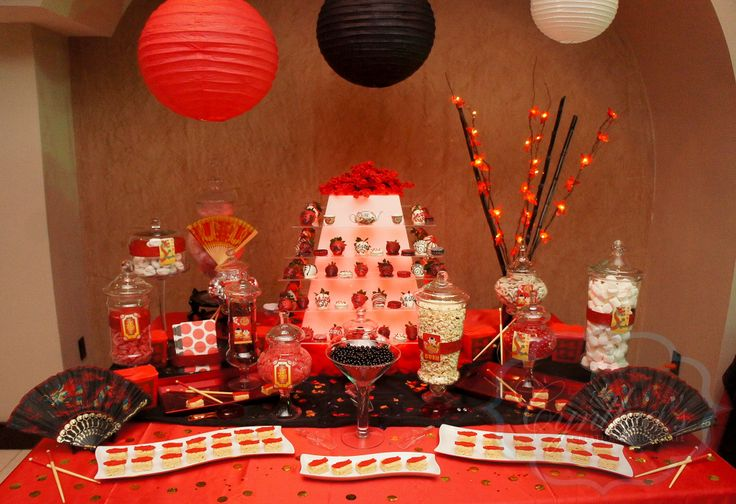 1000 images about chinese theme party on pinterest for Asian party decoration