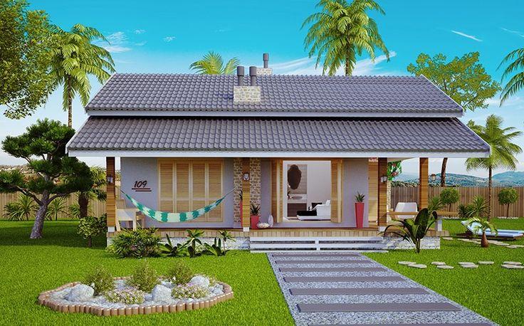 projetos de casa de campo - Pesquisa Google