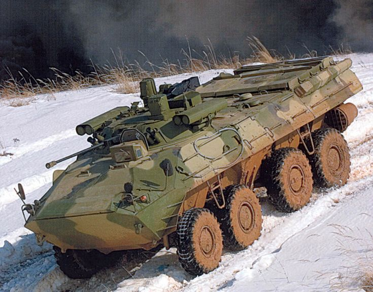 Russia BTR-90 APC - Armoured Personnel Carrier