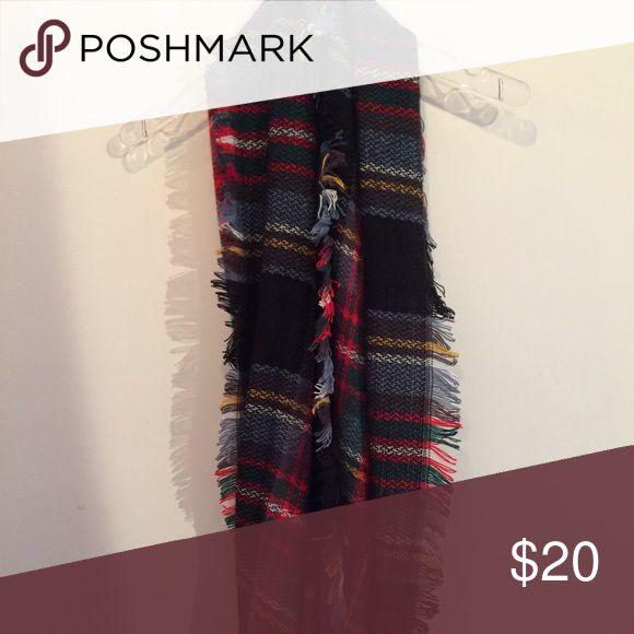 Plaid infinity scarf Plaid infinity scarf Accessories Scarves & Wraps