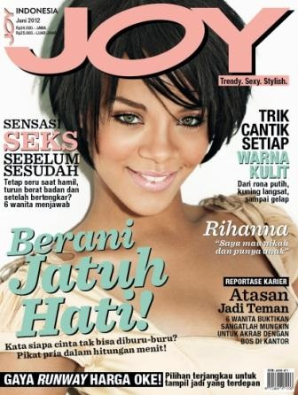 OUT NOW! JOY Indonesia June 2012 Issue feat Rihanna on the cover.