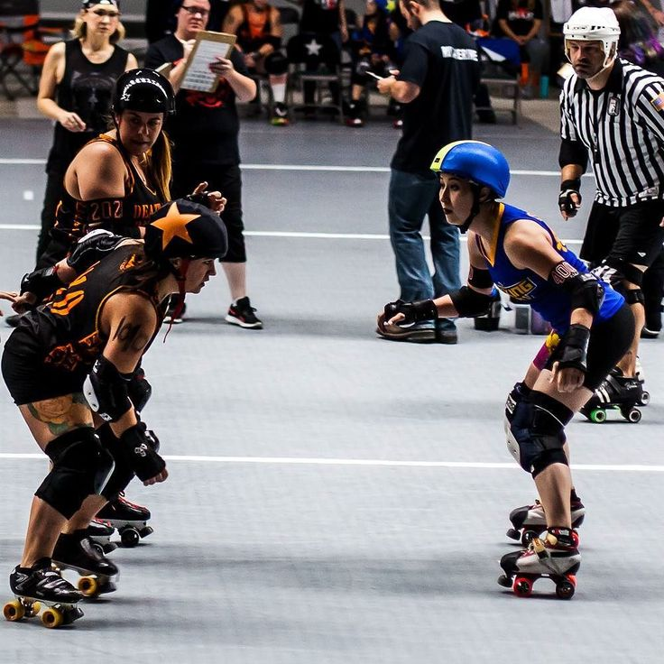 Gotta face things head on sometimes! Shot this during the Dallas Derby Devils double header on July 15th. . . . . . #dallasderbydevils #wreckingcrew #deathrowrumblers #thisisrollerderby #hitlikeagirl #skatelikeagirl #rollerderby #derbygirls #photography #canon #dallas #skate #sport #action