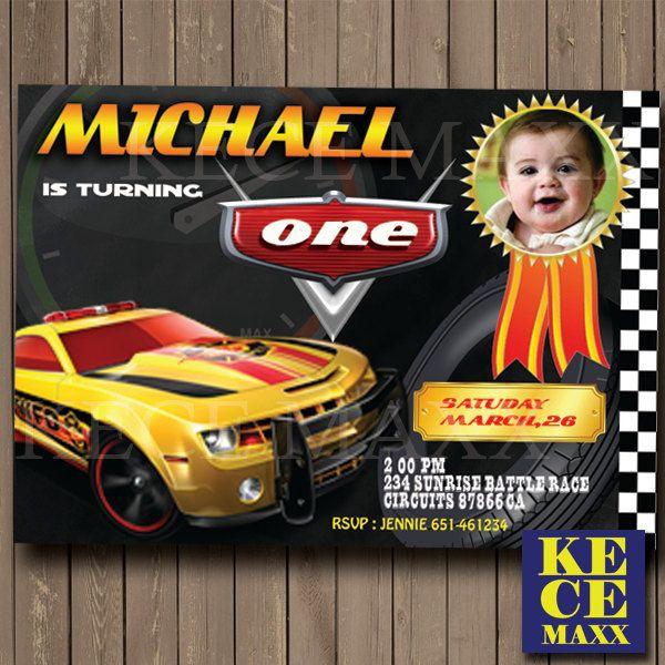 Car Birthday Invitation,Formula Birthday Invitation,Hotwheels Birthday Invitation,Kids Birthday,Race,Car Race,Racing,Track,Vert,F1,Sport Car by kecemaxx on Etsy