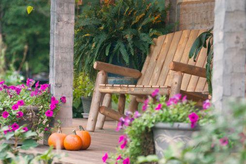 Royalty-free Image: Autumn Porch Series
