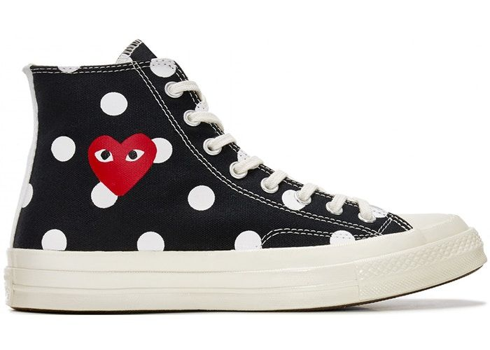 Converse 1970s Comme Des Garcons Polka Dot Play Off White