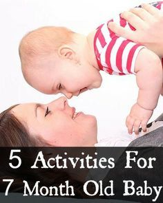 5 Learning Activities For Your 7 Month Old Baby
