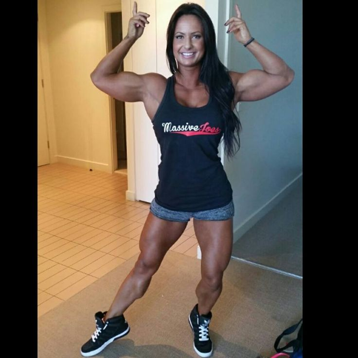 Rach white bodybuilding