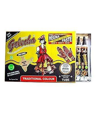 #Golecha herbal henna tube #natural #tattoo henna tubes with active color formula,  View more on the LINK: http://www.zeppy.io/product/gb/2/111592770498/