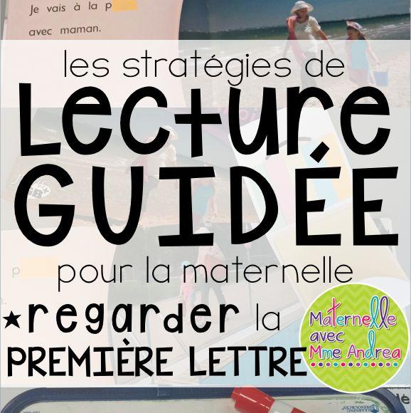 Lecture guidée - Utiliser la première lettre (prépare ta bouche avec la mouche)   maternelle   French guided reading   stratégies de lecture guidée