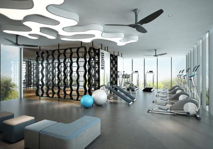 84 best images about gym yoga studio fitness lighting on - Condominium interior design concept ...